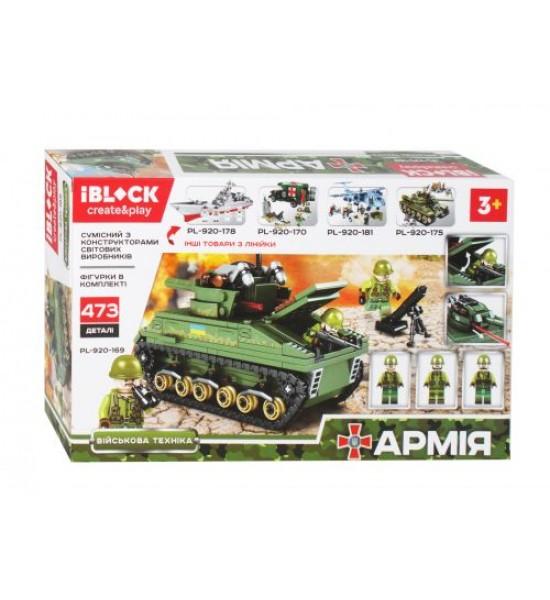 Конструктор Армия 473 дет PL-920-169