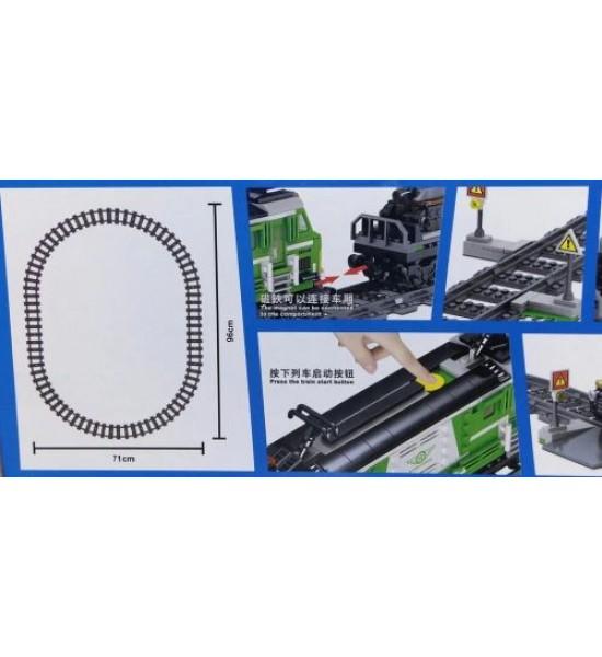 Конструктор Железная дорога 890 дет QL0311
