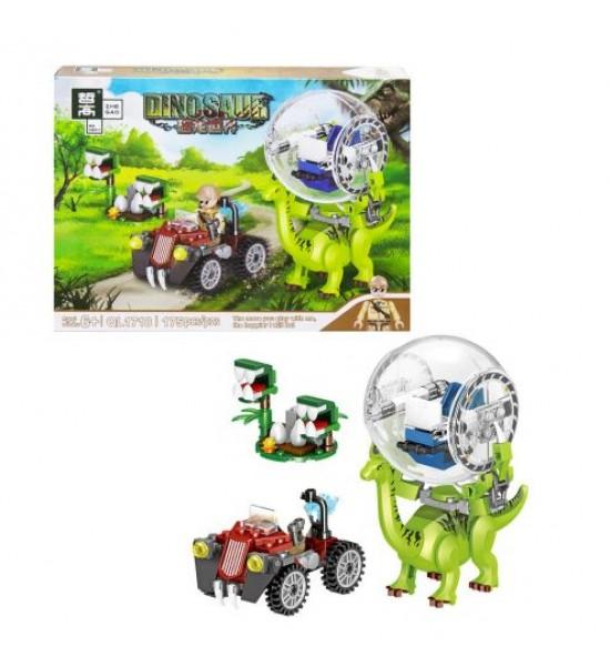 Пластиковый конструктор Dinosaur 175 дет QL1718