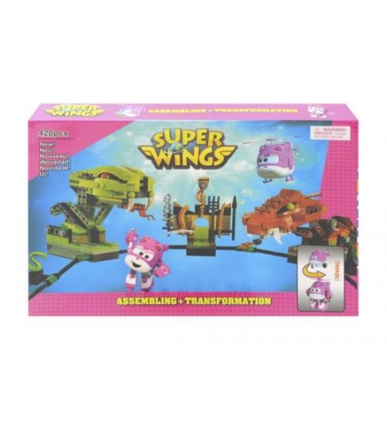 Конструктор Super Wings 420 дет 16115