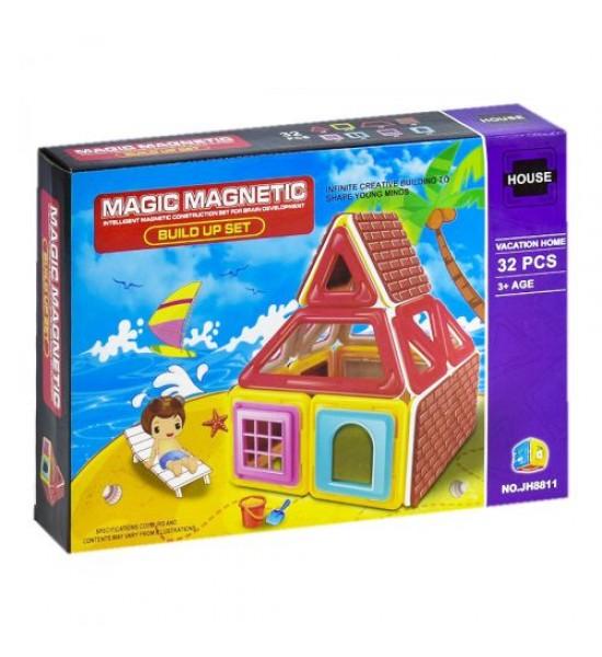 Магнитный конструктор Пляж 32 дет 1576796_JH881