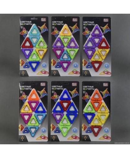 Магнитный конструктор Цветные магниты (8 деталей) 2432