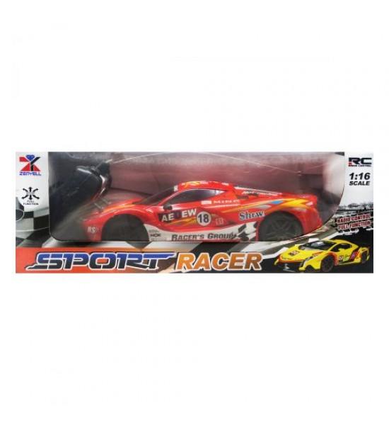 Машинка на радиоуправлении Sport Raser (красный) КВ-012