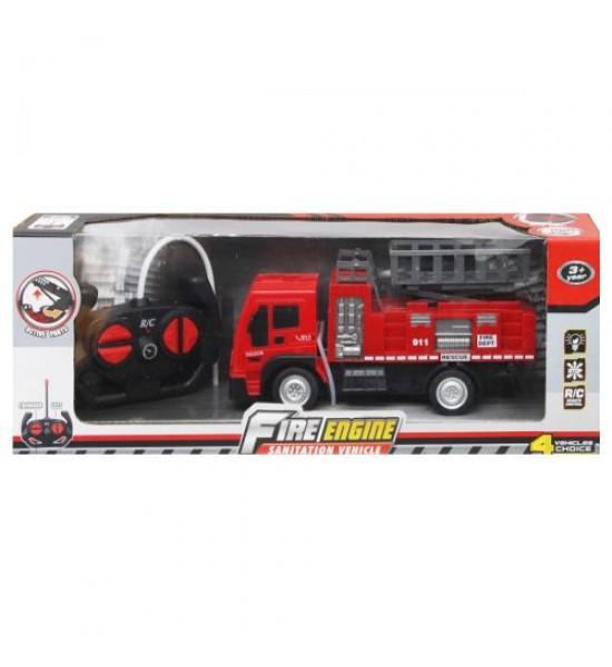 Пожарная машина на радиоуправлении с подъемником 998-17 Y