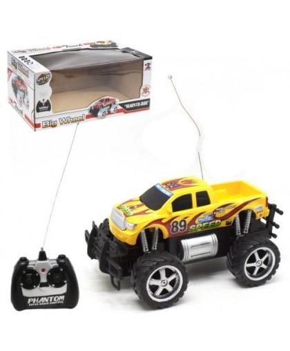 Машинка желтый КВ-020