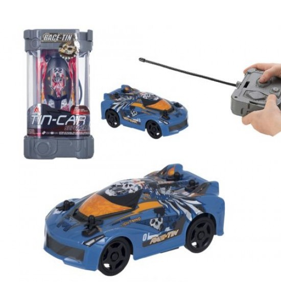 Машинка на радиоуправлении Tin Car (синяя) YW253102