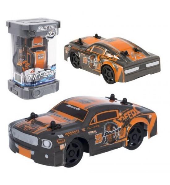 Машинка на радиоуправлении Tin Car (черная) YW253104