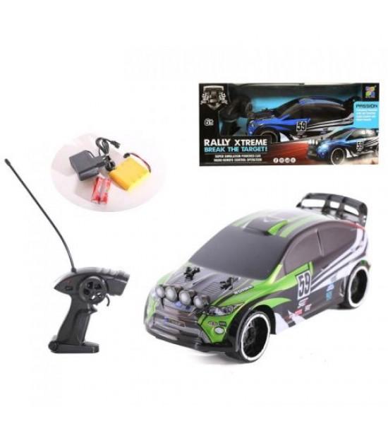 Машина RALLY XTREME (зеленый) 86599