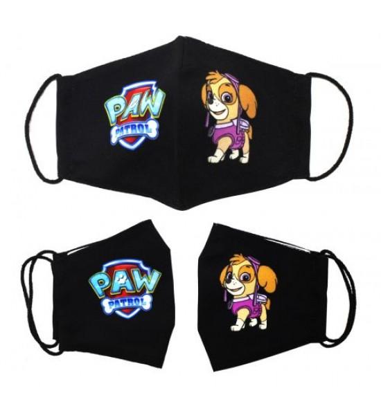 Многоразовая 4-х слойная защитная маска Щенячий патруль Скай размер 3 7-14 лет mask2NEW