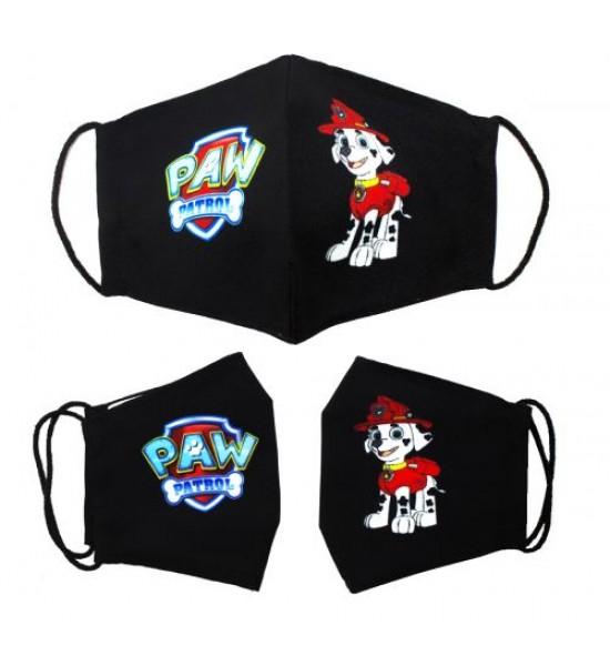 Многоразовая 4-х слойная защитная маска Щенячий патруль Маршал размер 3 7-14 лет mask2NEW
