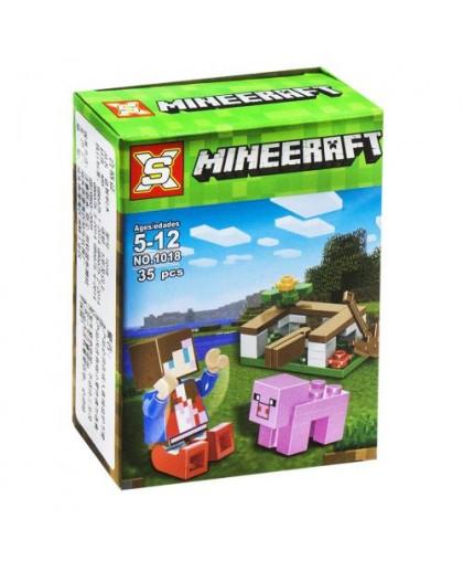 Конструктор Minecraft: Ферма 35 дет 1018