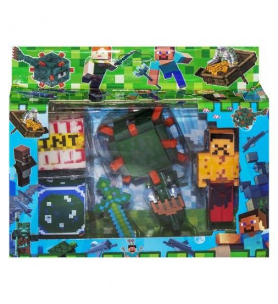 Герои Minecraft вид 1 J17