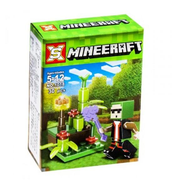 Конструктор Minecraft: Цветник 30 дет 1018