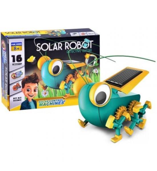 Робот-конструктор Solar Robot на солнечных батареях 1012