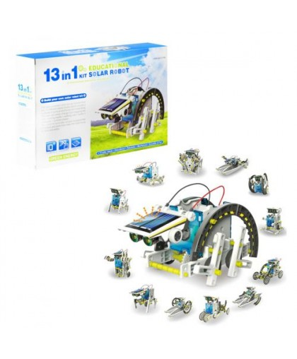 Робот-конструктор на солнечных батареях 13 в 1 2115A