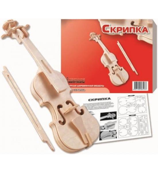 Деревянный конструктор Скрипка И003