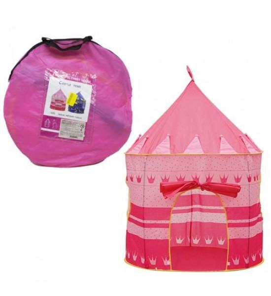 Палатка детская Купол розовая LY-023