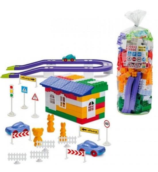 Конструктор пластиковый №6 250 дет. 1-055