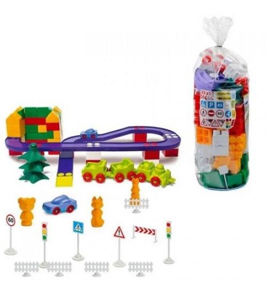 Конструктор пластиковый №6 130 деталей 1-216