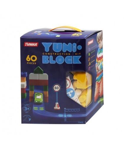 Конструктор детский YUNI-BLOCK 60 детали 1412