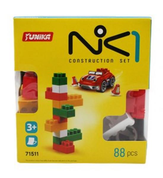 Пластиковый конструктор NIK-1 88 дет 1511