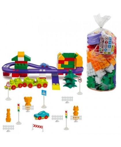 Конструктор пластиковый №7 150 деталей 1-217
