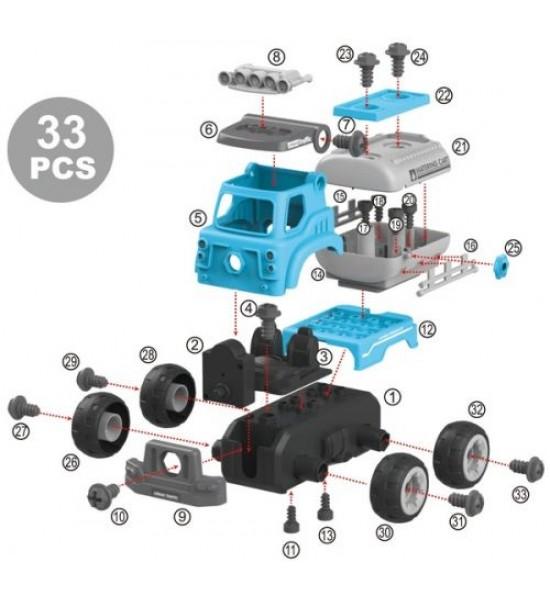 Конструктор DIY Spatial Creativity  Цистерна CJ-1379196