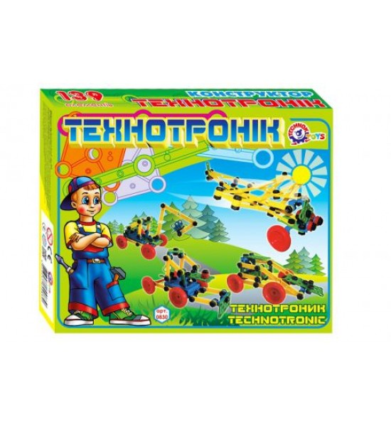 Конструктор Технотроник ТехноК 139 дет 0830