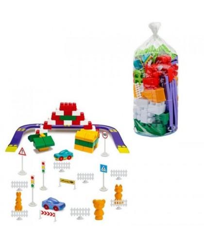 Конструктор пластиковый №4 90 дет. 1-214