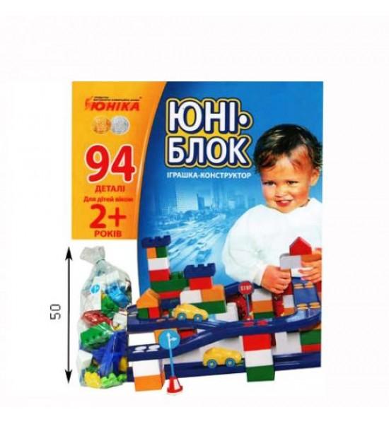 Конструктор Юни-блок (94 детали) 0125