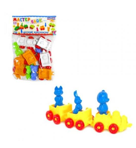 Детский конструктор 36 элементов 1-023