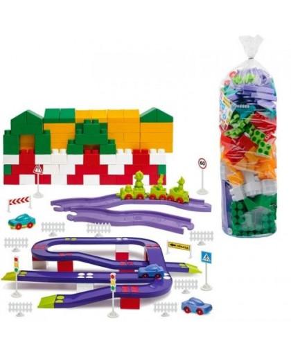 Конструктор пластиковый №8 180 деталей 1-218
