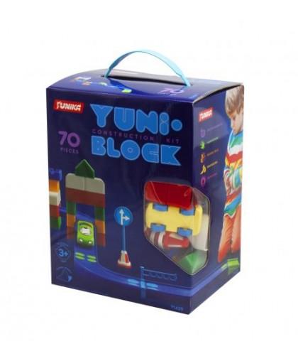Конструктор детский YUNI-BLOK 70 деталей 1429