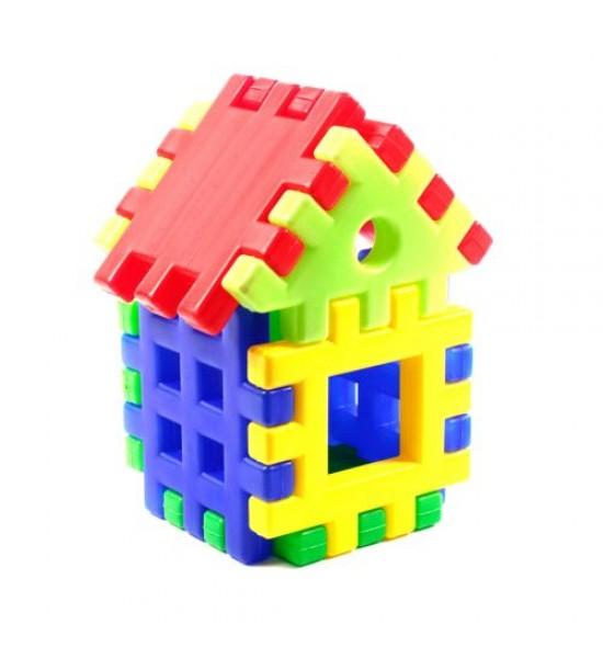Конструктор пазл «Домик» (9 элементов) ИП.09.001