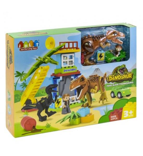 Конструктор Динозавры 43 детали 5409