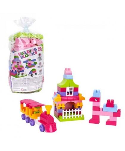 Конструктор пластиковый Building Blocks 90 дет 6559