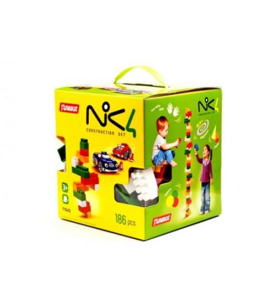 Пластиковый конструктор NIK4 186 дет 1542
