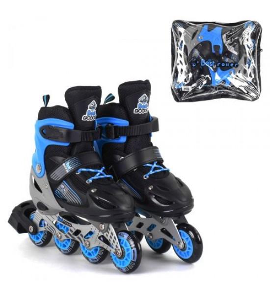 Ролики с подсветкой Best Roller S голубой 20045-S