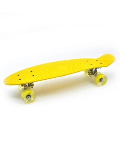 Пенни-борд желтый 5358