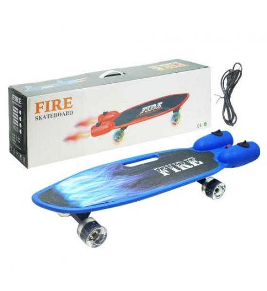 Скейт Fire синий GSK-0013